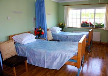 double bedroom Heatherfield Nursing Home